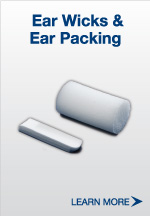 Ear Wicks and Ear Packing